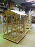 2台目木造住宅倒壊模型が完成しました!